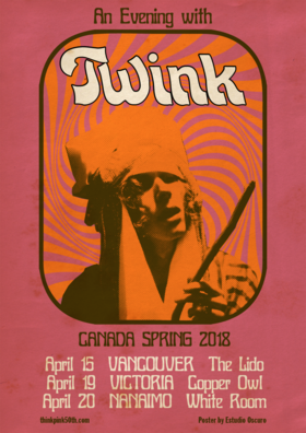 .: TWINK, BARNABY BENNETT @ Copper Owl Apr 19 2018 - Dec 19th @ Copper Owl