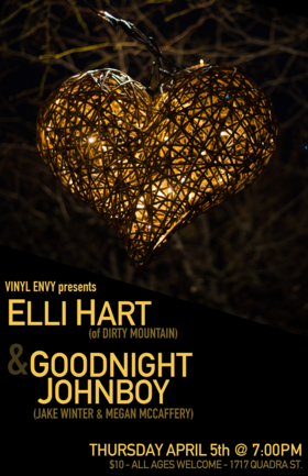 Elli Hart, Goodnight Johnboy @ Vinyl Envy Apr 5 2018 - Dec 19th @ Vinyl Envy
