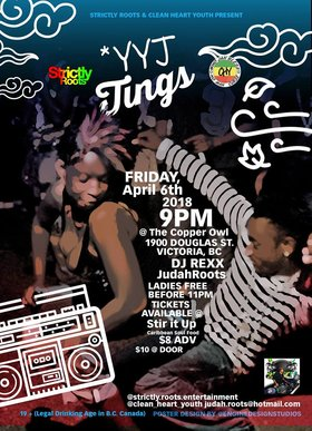 YYJ TINGS: DJ Rexx @ Copper Owl Apr 6 2018 - Dec 19th @ Copper Owl