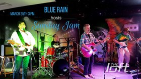 Blue Rain Sunday Jam at the Loft: Blue Rain @ The Loft (Victoria) Mar 25 2018 - Dec 18th @ The Loft (Victoria)