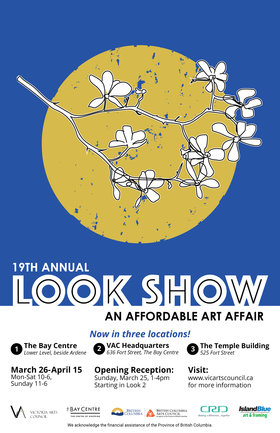 19th Annual Look Show @ Three Victoria Arts Council Pop-up Galleries Mar 25 2018 - Dec 19th @ Three Victoria Arts Council Pop-up Galleries