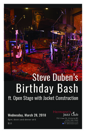 Steve Duben  Birthday Bash @ Hermann