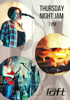 Thursday Night Jam at the Loft @ The Loft (Victoria) Mar 29 2018 - Dec 18th @ The Loft (Victoria)