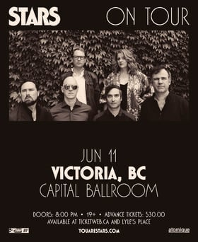 Stars, Guests @ Capital Ballroom Jun 11 2018 - Mar 23rd @ Capital Ballroom