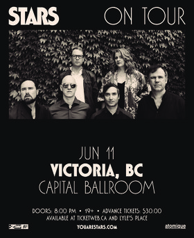 Stars, Guests @ Capital Ballroom Jun 11 2018 - Mar 25th @ Capital Ballroom