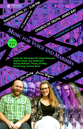 Music for Voice and Marimba: Jessica Wagner (soprano), Colin Malloy  (percussionist) @ Church Of Truth Apr 21 2018 - Dec 19th @ Church Of Truth