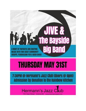 Jive & the Bayside Big Band @ Hermann