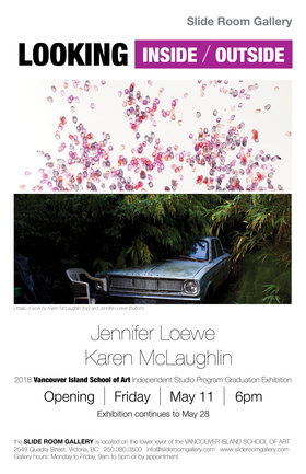 LOOKING INSIDE/OUTSIDE: Jennifer Loewe, Karen McLaughlin @ Slide Room Gallery May 14 2018 - Jan 15th @ Slide Room Gallery