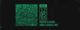 Frequency Saturday with: Allsgood , Inky, JAMES FLAVOUR @ Copper Owl May 12 2018 - Jan 18th @ Copper Owl