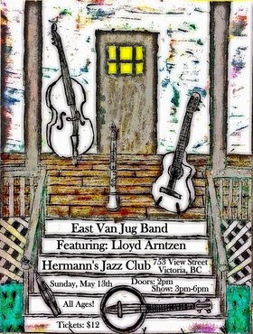 East Van Jug Band: Featuring Lloyd Arntzen @ Hermann