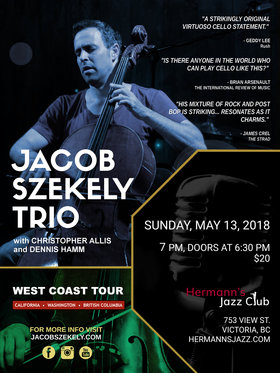Jacob Szekely Trio @ Hermann
