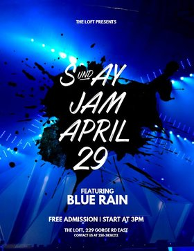 Sunday Jam at the Loft: Blue Rain @ The Loft (Victoria) Apr 29 2018 - Dec 13th @ The Loft (Victoria)