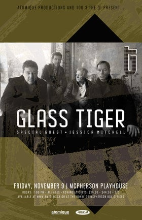 Glass Tiger, Jessica Mitchell @ McPherson Playhouse Nov 9 2018 - Mar 18th @ McPherson Playhouse