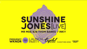 FREQUENCY WKNDR: SUNSHINE JONES, Moe Berger, Thom Banks, Inky @ Capital Ballroom May 20 2018 - Jan 18th @ Capital Ballroom