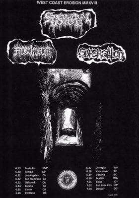 Spectral Voice, Mortiferum, Superstition, Gnosis @ Capital Ballroom Jun 29 2018 - Dec 9th @ Capital Ballroom
