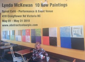 LYNDA MCKEWAN @ Spiral Cafe May 9 2018 - Jan 18th @ Spiral Cafe
