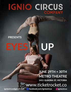 IGNIO CIRCUS - EYES UP @ Metro Studio Jun 29 2018 - Dec 13th @ Metro Studio