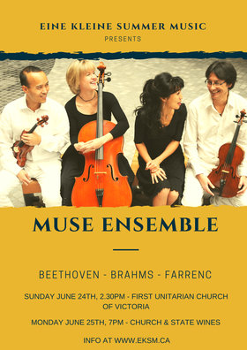 Muse Ensemble at Church & State Wines: Muse Ensemble @ Church & State Wines, 1445 Benvenuto Ave, Brentwood Bay, BC V8M Jun 25 2018 - Mar 23rd @ Church & State Wines, 1445 Benvenuto Ave, Brentwood Bay, BC V8M