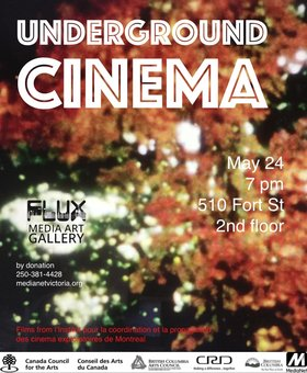 Underground Cinema @ FLUX MEDIA GALLERY May 24 2018 - Feb 19th @ FLUX MEDIA GALLERY