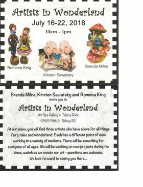 Artists in Wonderland @ ArtSea Gallery in Tulista Park Jul 16 2018 - Feb 22nd @ ArtSea Gallery in Tulista Park