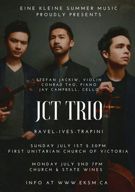 JCT Trio at First Unitarian Church of Victoria: JCT Trio @ First Unitarian Church of Victoria Jul 1 2018 - Dec 13th @ First Unitarian Church of Victoria