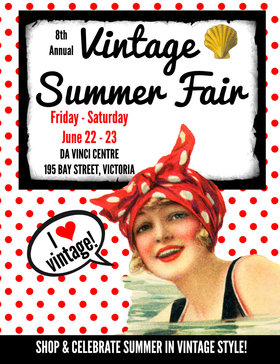 8th Annual Vintage Summer Fair: the millies @ Leonardo da Vinci Centre Jun 22 2018 - Dec 9th @ Leonardo da Vinci Centre