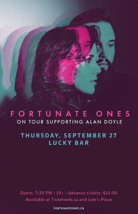 Fortunate Ones, Guests @ Lucky Bar Sep 27 2018 - May 19th @ Lucky Bar
