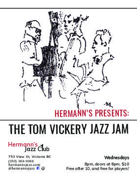 Hermanns Jazz Jam: Feat.  The Tom Vickery Trio @ Hermann