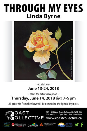 Through My Eyes: Linda Byrne @ Coast Collective Art Centre Jun 13 2018 - Mar 22nd @ Coast Collective Art Centre
