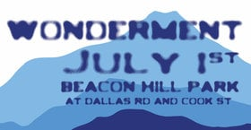 Wonderment 2018: NOAH PRED, Ivory Towers, Sabrina Dzugalo, dub gnostic @ Beacon Hill Park Jul 1 2018 - Dec 13th @ Beacon Hill Park