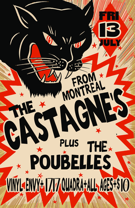 FRIDAY THE 13TH~!: The Poubelles, The Castagne