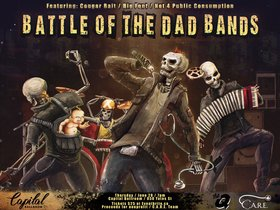 Battle of the Dad Bands: Cougar Bait, Big Font, Not 4 Public Consumption @ Capital Ballroom Jun 28 2018 - Mar 23rd @ Capital Ballroom