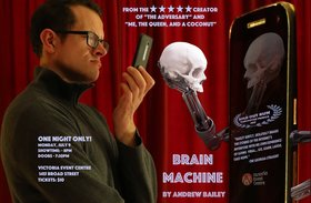 Brain Machine: Andrew Bailey @ Victoria Event Centre Jul 9 2018 - Feb 16th @ Victoria Event Centre