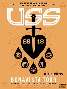 USS, The Elwins @ Royal Theatre Nov 11 2018 - Mar 20th @ Royal Theatre