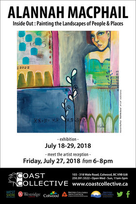 Inside Out: Painting the Landscapes of People & Places: Alannah MacPhail @ Coast Collective Gallery Jul 18 2018 - Dec 15th @ Coast Collective Gallery