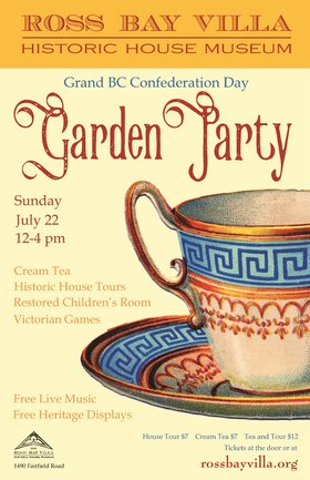 Confederation Day Garden Party @ Ross Bay Villa Historic House Museum Jul 22 2018 - Feb 19th @ Ross Bay Villa Historic House Museum