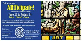 ARTicipate! @ Christ Church Cathedral  Jul 9 2018 - Mar 23rd @ Christ Church Cathedral