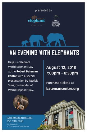 An Evening With Elephants @ The Robert Bateman Centre Aug 12 2018 - Feb 22nd @ The Robert Bateman Centre