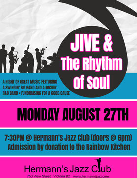 The Jive Big Band & The Rhythm of Soul @ Hermann
