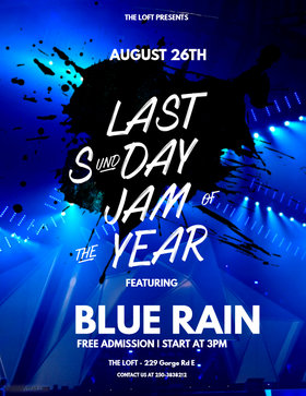 Blue Rain Sunday Jam at the Loft: Blue Rain @ The Loft (Victoria) Aug 26 2018 - Feb 22nd @ The Loft (Victoria)