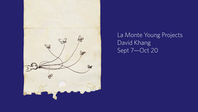 La Monte Young Projects Opening Reception: DAVID KHANG @ Open Space Sep 7 2018 - Oct 16th @ Open Space