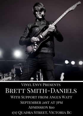Brett Smith-Daniels, Angus Watt  (Pastel Blank) @ Vinyl Envy Sep 21 2018 - Mar 18th @ Vinyl Envy