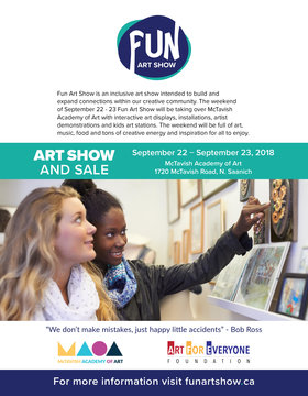 The FUN Art Show @ McTavish Academy of Art Sep 22 2018 - May 19th @ McTavish Academy of Art