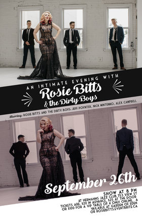 Rosie Bitts and the Dirty Boys @ Hermann
