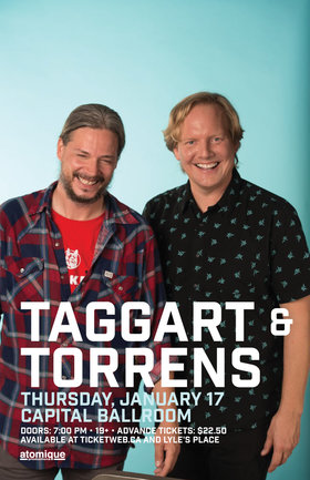 Taggart & Torrens, Plus Guests @ Capital Ballroom Jan 17 2019 - Jan 15th @ Capital Ballroom