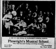 Plowright\'s Musical School