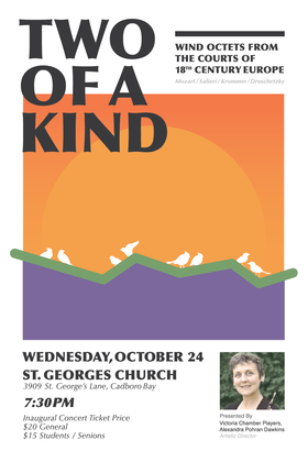Two of A Kind @ St George's Anglican Church  Oct 24 2018 - May 19th @ St George's Anglican Church