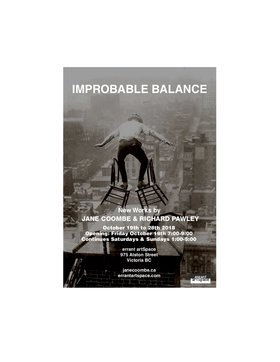 IMPROBABLE BALANCE: Jane Coombe, Richard Pawley @ Errant ArtSpace Oct 19 2018 - May 19th @ Errant ArtSpace