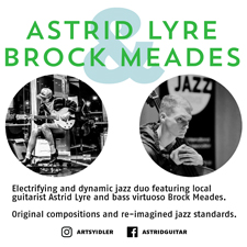 Astrid Lyre Duo @ Northern Quarter Oct 4 2018 - May 19th @ Northern Quarter