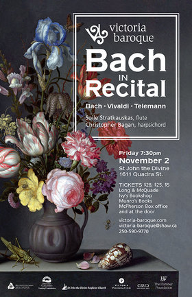 Bach in Recital: Victoria Baroque @ St. John The Divine Nov 2 2018 - Apr 22nd @ St. John The Divine